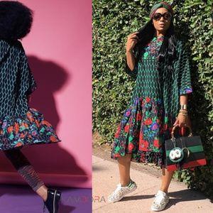Kenzo x H&m Floral Dress